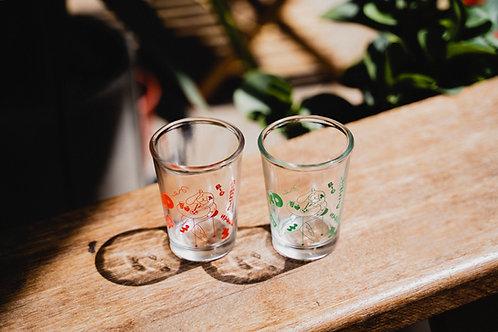 CHOU YI x BIG ROMANTIC STORE - 台湾居酒屋式ビールグラス(2色入)