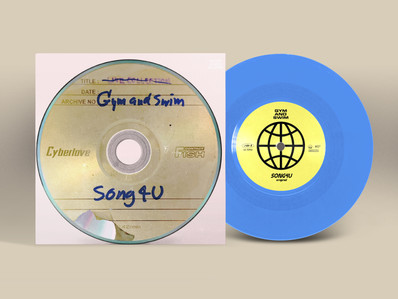 7-inch vinyl SONG4U  from Gym and Swim has decided to be released by BIG ROMANTIC RECORDS on June