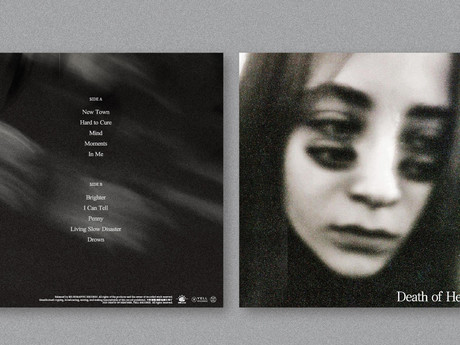 Dream-pop/shoegaze band Death Of Heather's first self-titled LP released in July!