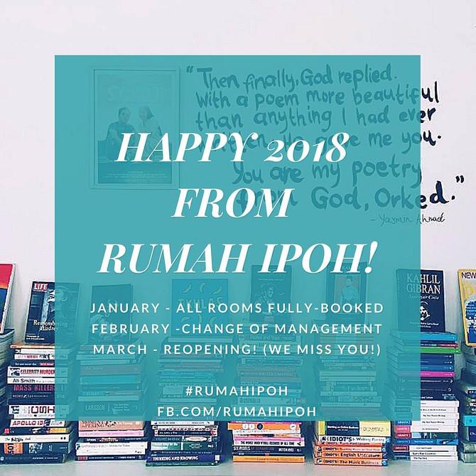 #RumahIpoh: Hello 2018