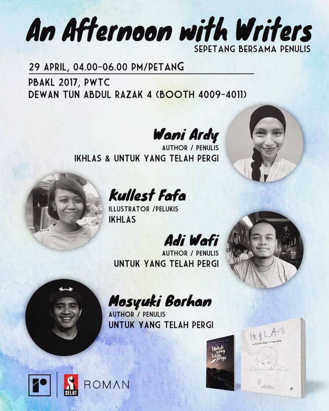 PBAKL 2017: An Afternoon with Writers