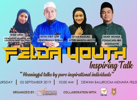 Felda Youth Inspiring Talk 5 September 2019