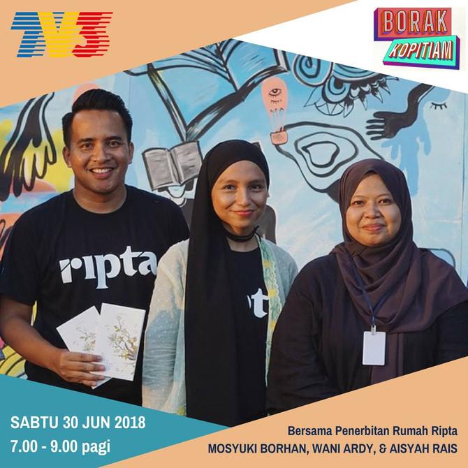 Ripta @ Borak Kopitiam TV3