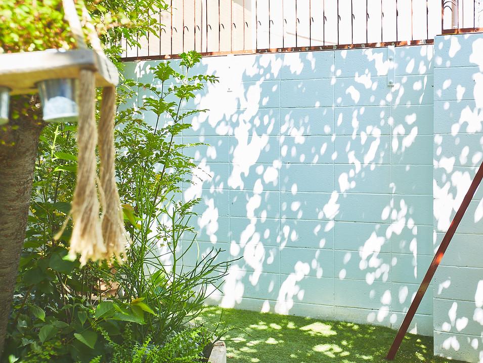 garden block fence