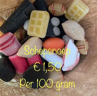 Schepsnoep €1,50