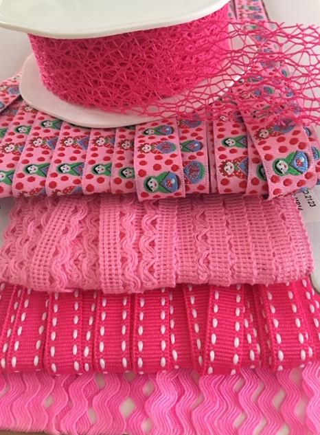 Lintpakket pink