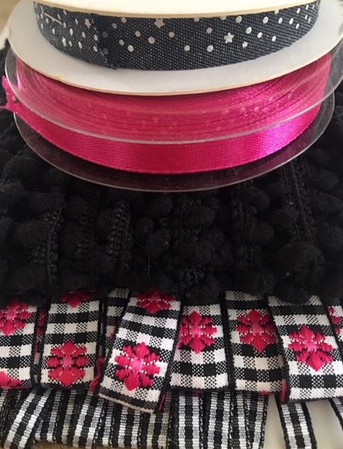 Lintpakket black & pink