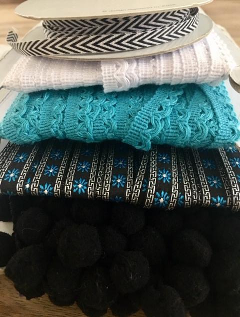 Lintpakket black & blue