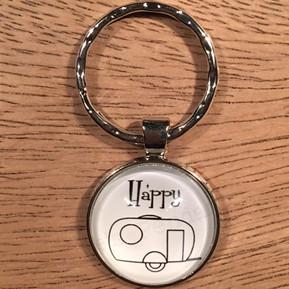 Sleutelhanger happy