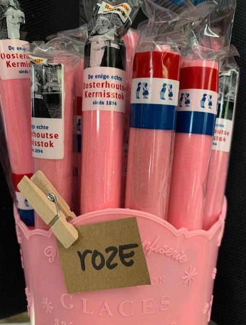 Roze zuurstok