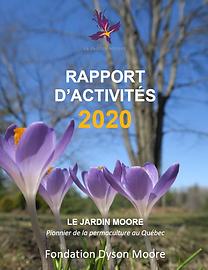page couverture Rapport activites 2020.p