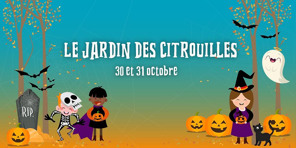 Le Jardin des citrouilles - 31 octobre 2021