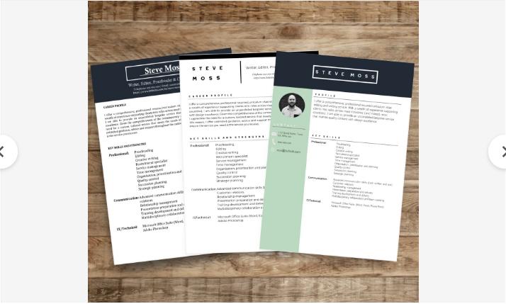 Curriculum Experto + Carta Presentacion