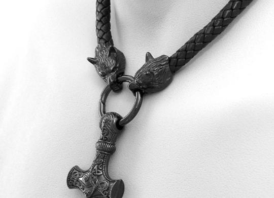 Colgante Vikingo Martillo de Odin