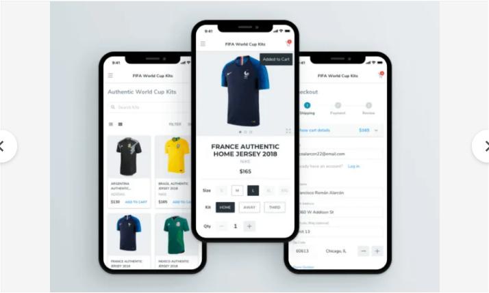 App eCommerce de Moda