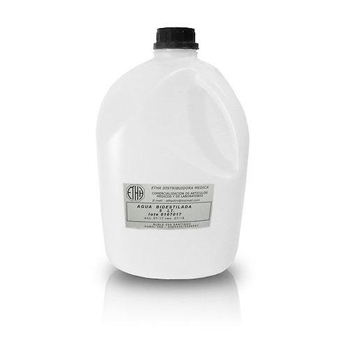 Agua Bidestilada Bidon 5 Litros