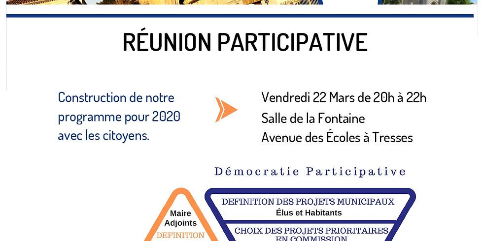 Nouvelle réunion participative vendredi 22 mars 2019