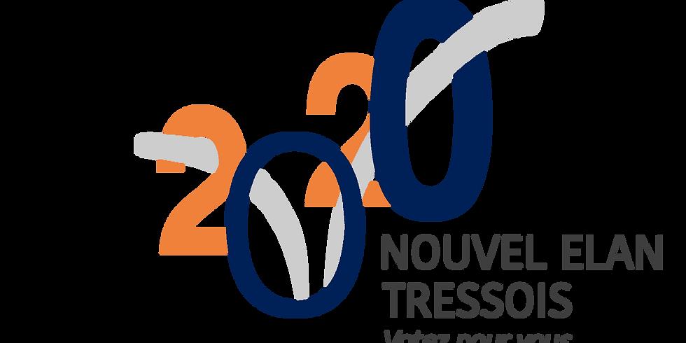 2ème RÉUNION ÉLECTORALE - MUNICIPALES 2020