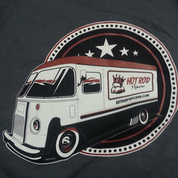Printed anothwr order of theae tee shirts for our friends at Hot Rod Popcorn this week featuring art