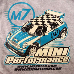 Printing a batch of these for our friends at Ultimate Mini featuring a new color combo #mini #minico