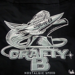 Cool Jeff Norwell _jeffhotrod design we printed for our buddy Kirk __craftyb_  #rodtees #tshirt #cra