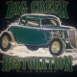 _jeffhotrod created this killer tee shirt design that we had the pleasure of printing on some tee sh