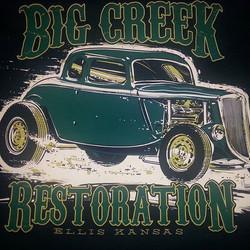 _jeffhotrod created this killer tee shirt design that we had the pleasure of printing on some tee sh