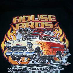 Test dtg tee shirt print we did yesterday with artwork created by our talented friend Ger Peters #ho