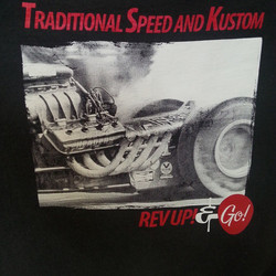 Cool tee shirts we printed for Traditional Speed & Kustom #rodtees #dragstrip #digger #dragster #qua