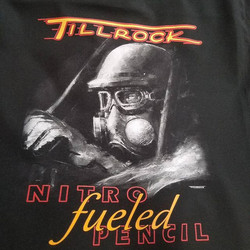 Fresh new tshirts for our talented friend _ed_tillrock_pencilspecialist who also created the art..