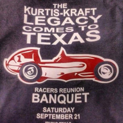 Printed these tee shirts for a racers banquet in Texas #texas #screenprinting #kurtiskraft #midgetra