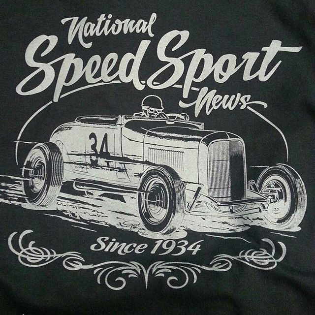 cool tshirts we print for Speed Sport featuring a killer design by _gerdutchcouragepeters ..