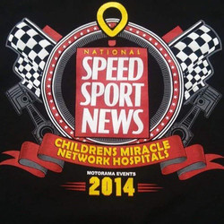 Cool shirts we print for SPEED SPORT  in supoort if the Childrens Miracle Network #speed #sprintcar