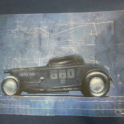 Another in the blueprint series we are printing for the Rolling Bones featuring amazing art by the v