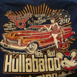 Awesome tees we printed for this years Hot Rod Hullabaloo in Lexington Ky..