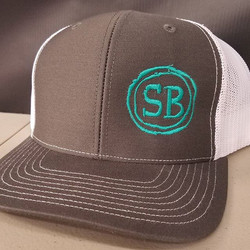 Some new hats we embroidered for our friends _eatsouthbound which is going to be one of the most pop