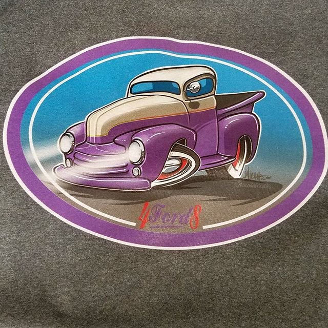 Cool tshirt design we printed featuring cool artwork by __micahdoodles_ #rodtees #tshirtsandothercra