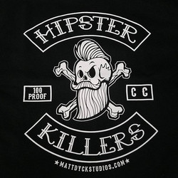 Matt Dyck of _mattdyckstudios created this killer tshirt design that we had the pleasure of printing