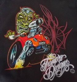 Our buddy Tramp Warner had us print these tshirts for him..