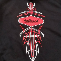 Cool t-shirts and hoodies we print for Nate and the crew at Kultured Customs