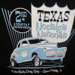 Mike Shoaf created this tee shirt design that we printed for the Texas Nostalgia Nationals #digger #