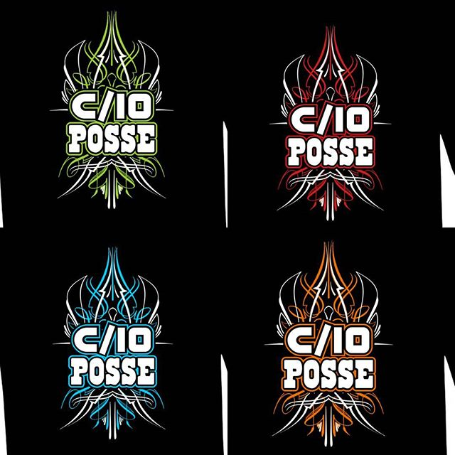new tshirts we are printing for _c10posse..