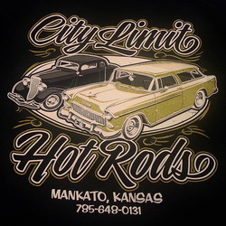 Printing these tee shirts today here at Rodtees for our buddy PJ at City Limit Hot Rods featuring a
