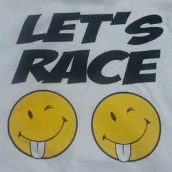 Some new t-shirts we are screen printing for our buddy Kenny Welch who tears up the quarter mile in