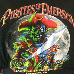 Trick or Treat! Ghoul...errr cool tee shirts we printed for Pirates of Emerson..