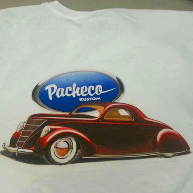 Another killer design by _pachecokustoms that we had the pleasure of printing on to some tshirts#cou
