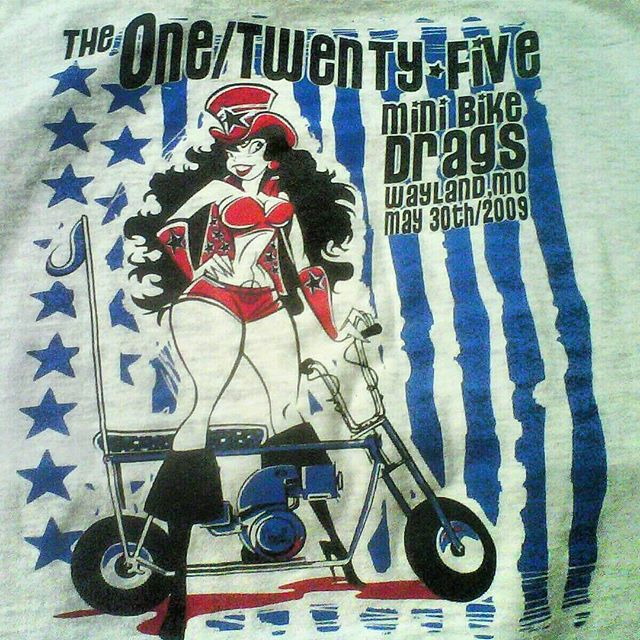 Here is a kool tshirt we printed a few years back with some awesome art by _jeffhotrod #rodtees #tsh