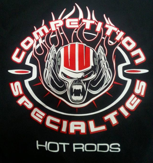 printed up some of these tee shirts for the cool folks at Competition Specialties #hotrod #harleys #
