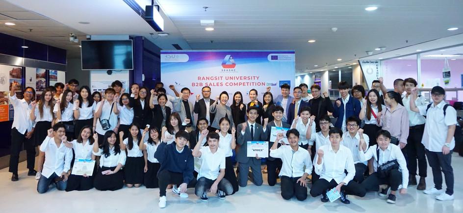 Sales Competition @Rangsit University