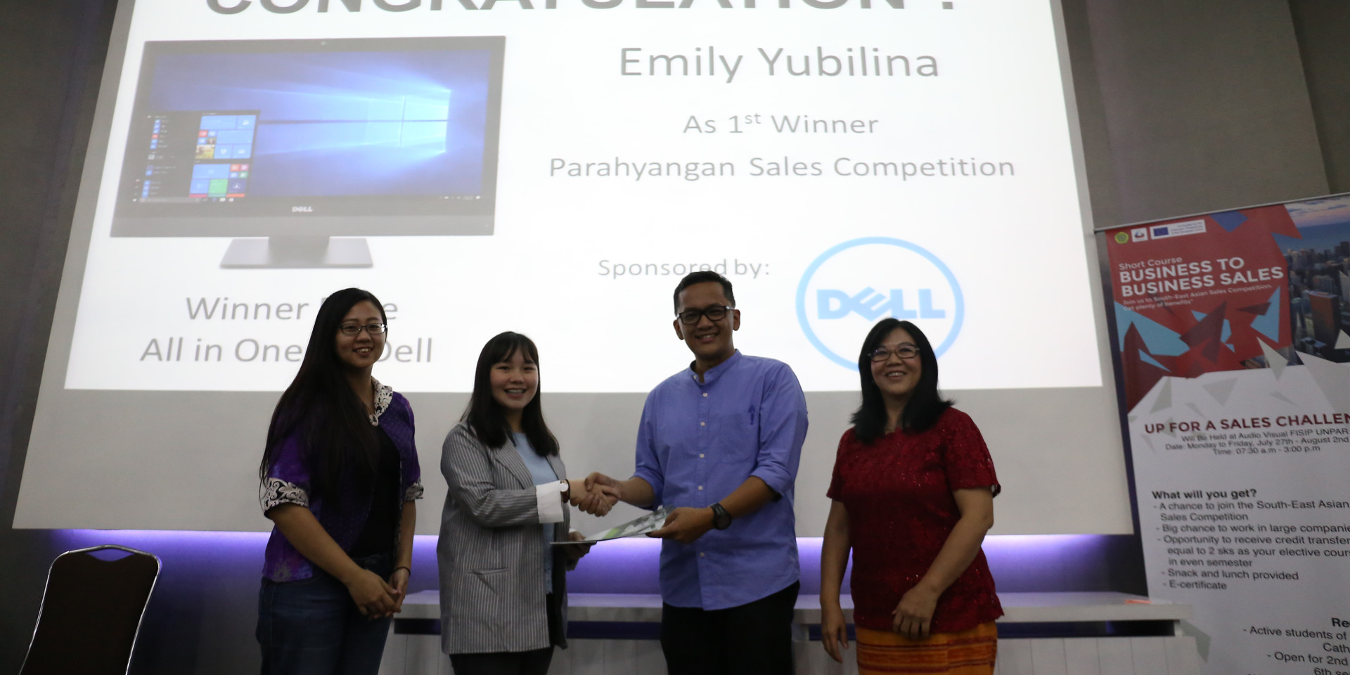 Sales Competition @Parahyangan University